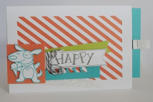Artfully Sent Sleeve B'day Card