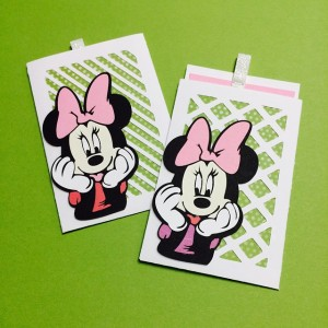 Minnie Mouse Artfully Sent