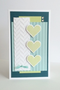 NSM Chevron Heart Card