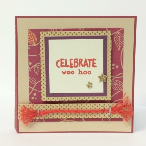 Sangria Pocket Card Celebrate
