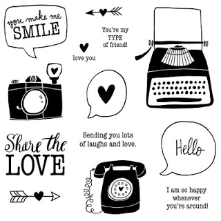 Share The Love Stamp Set Image