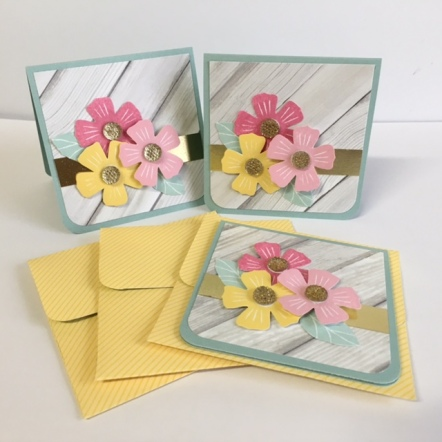 Happy Times Mini Cards & Envelopes