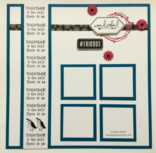Flock Page layout