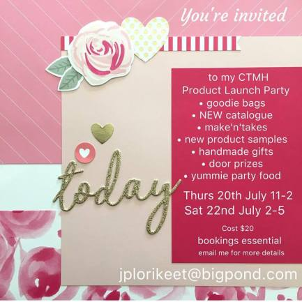 2017 Launch Party Invitation