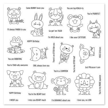 Punny Pals Stamp Set D1751